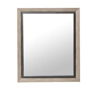 espiel καθρεπτης ξυλινος μπεζ γκρι eco301