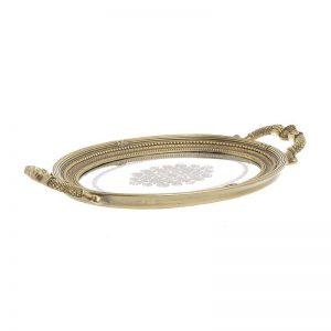 δισκος για γαμο inart vintage με καθρεπτη 3-70-117-0085