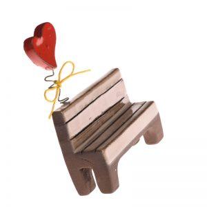 κεραμική διακοσμητική παγκακι με καρδουλα ανοιξιατικο χειροποιητο ροζος απο μαυρο πηλο