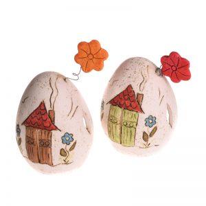 διακοσμητικο χειροποιητο φαναρακι αυγο
