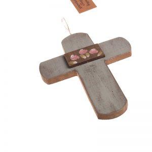 ξυλινο χειροποίητο διακοσμητικό για τον τοιχο γουρι δωρο5