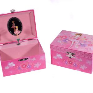 28-50142 μπιζουτιερα μπιζουθηκη μουσικη vintage ροζ-2