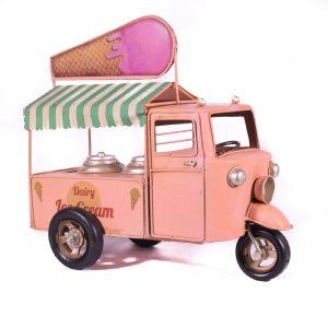 Ροζ Παγωτομηχανή Τρίκυκλο 44-2406