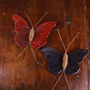 διακοσμητικη πεταλουδα κεραμικη χειροποιητη για τον τοιχο (1 of 4)