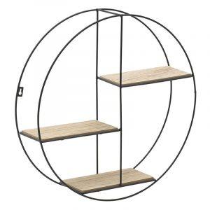 ΡΑΦΙΕΡΑ ΤΟΙΧΟΥ ΚΩΔΙΚΟΣ- 6-50-299-0002 ιναρτ μεταλλικη ξυλινη