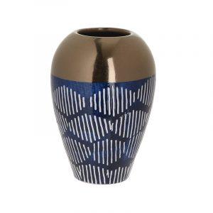 3-70-178-0086_zoom-800x800 κεραμικο βαζο μπλε χρυσίο